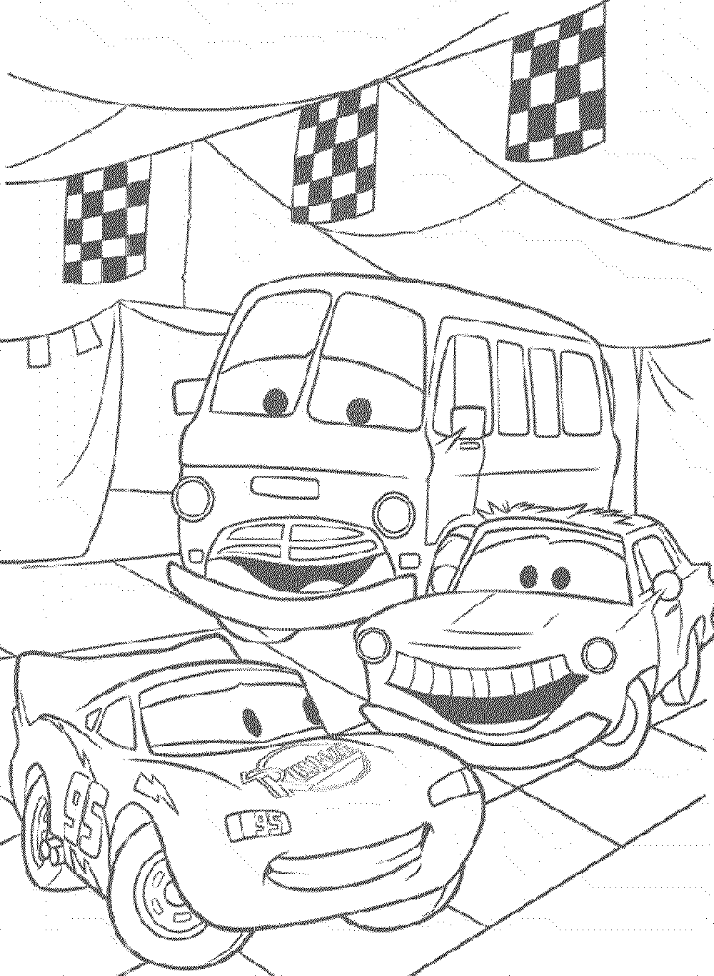 cars the movie coloring pages cars movie drawing at getdrawings free download coloring movie the cars pages