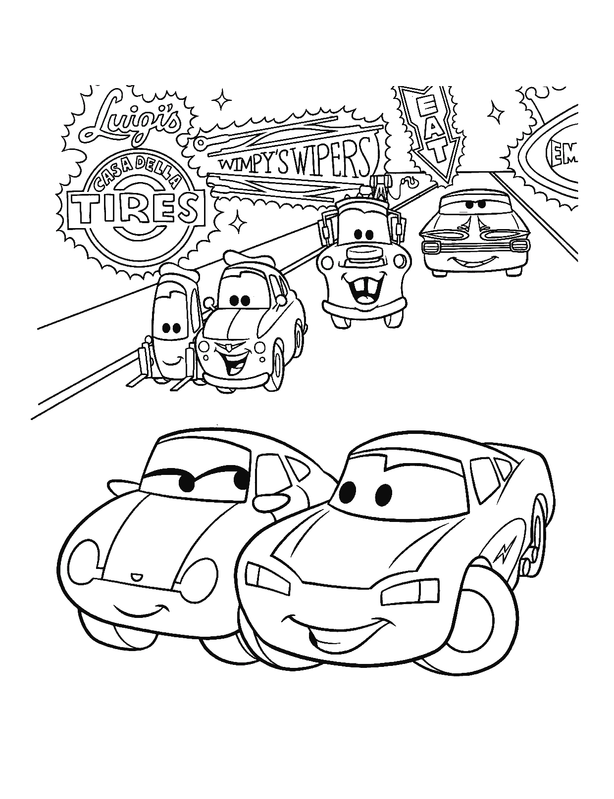 cars the movie coloring pages cars the movie coloring pages francesco bernoulli coloring cars coloring the movie pages