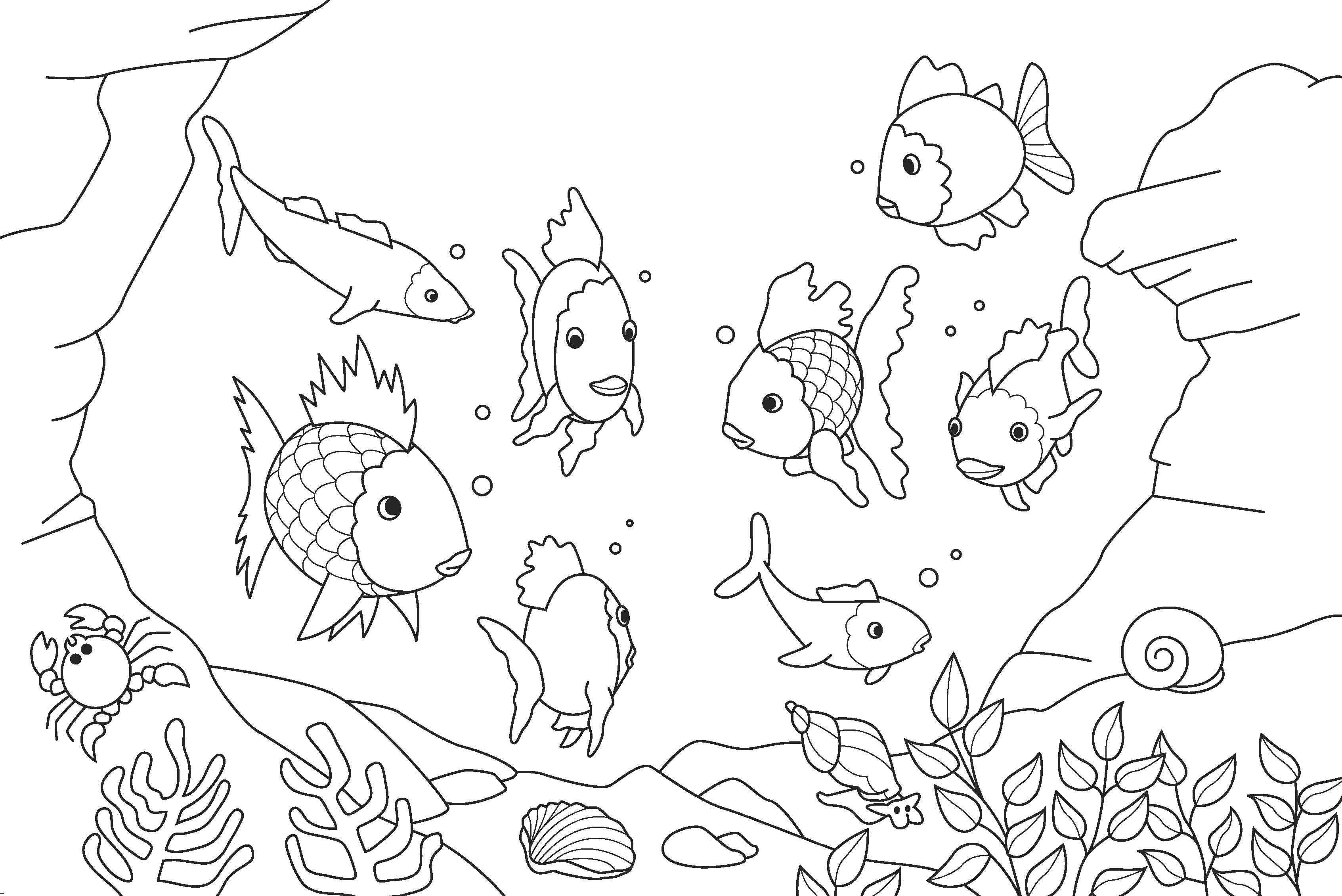 cartoon underwater coloring pages underwater coloring pages to download and print for free cartoon underwater pages coloring