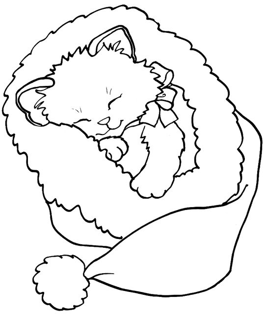 cat christmas coloring pages 453 best images about cat digi stamps on pinterest coloring pages christmas cat