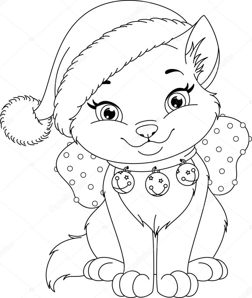 cat christmas coloring pages christmas coloring pages christmas coloring pages cat