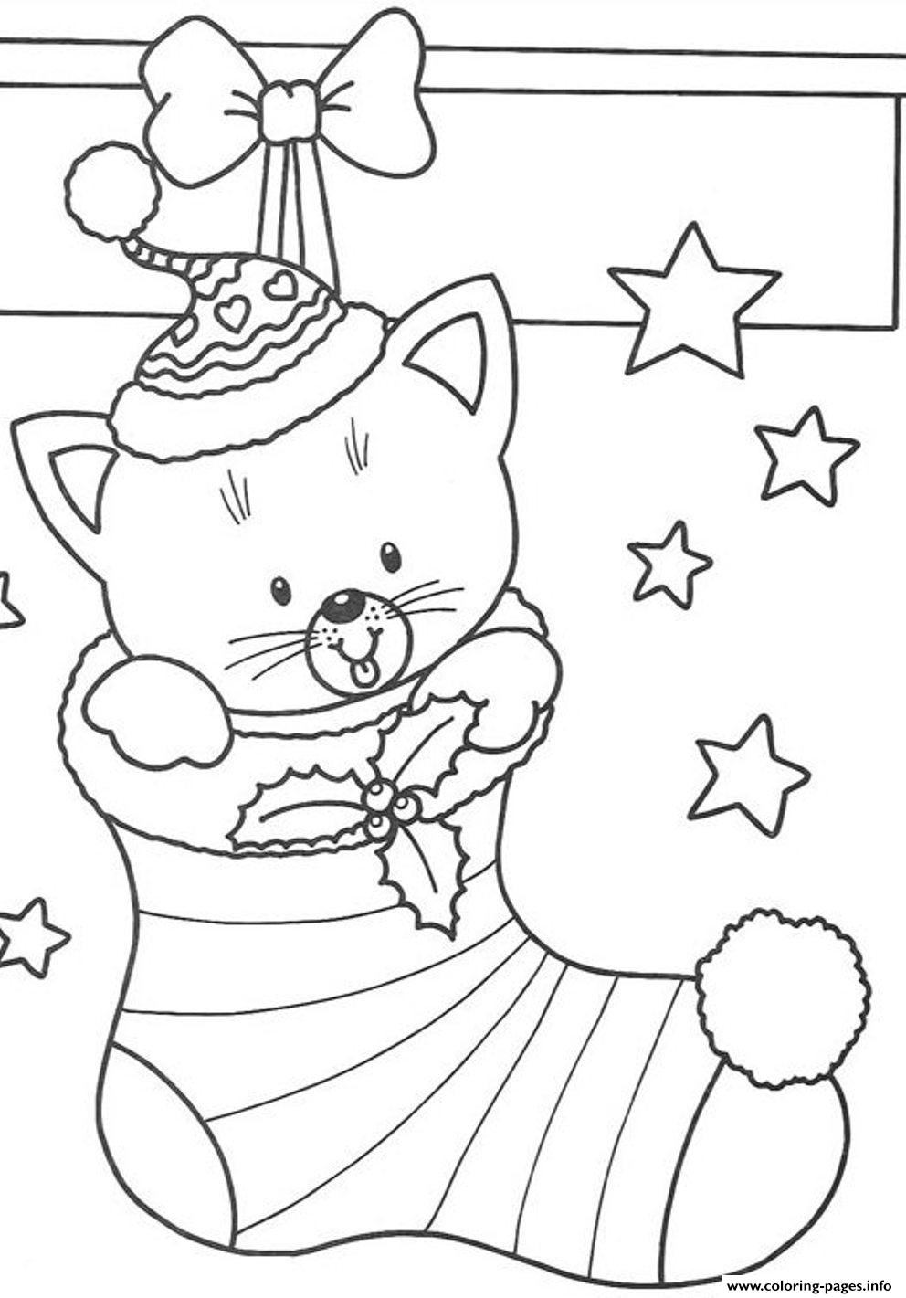 cat christmas coloring pages christmas sphynx cat with gifts christmas adult coloring coloring pages christmas cat