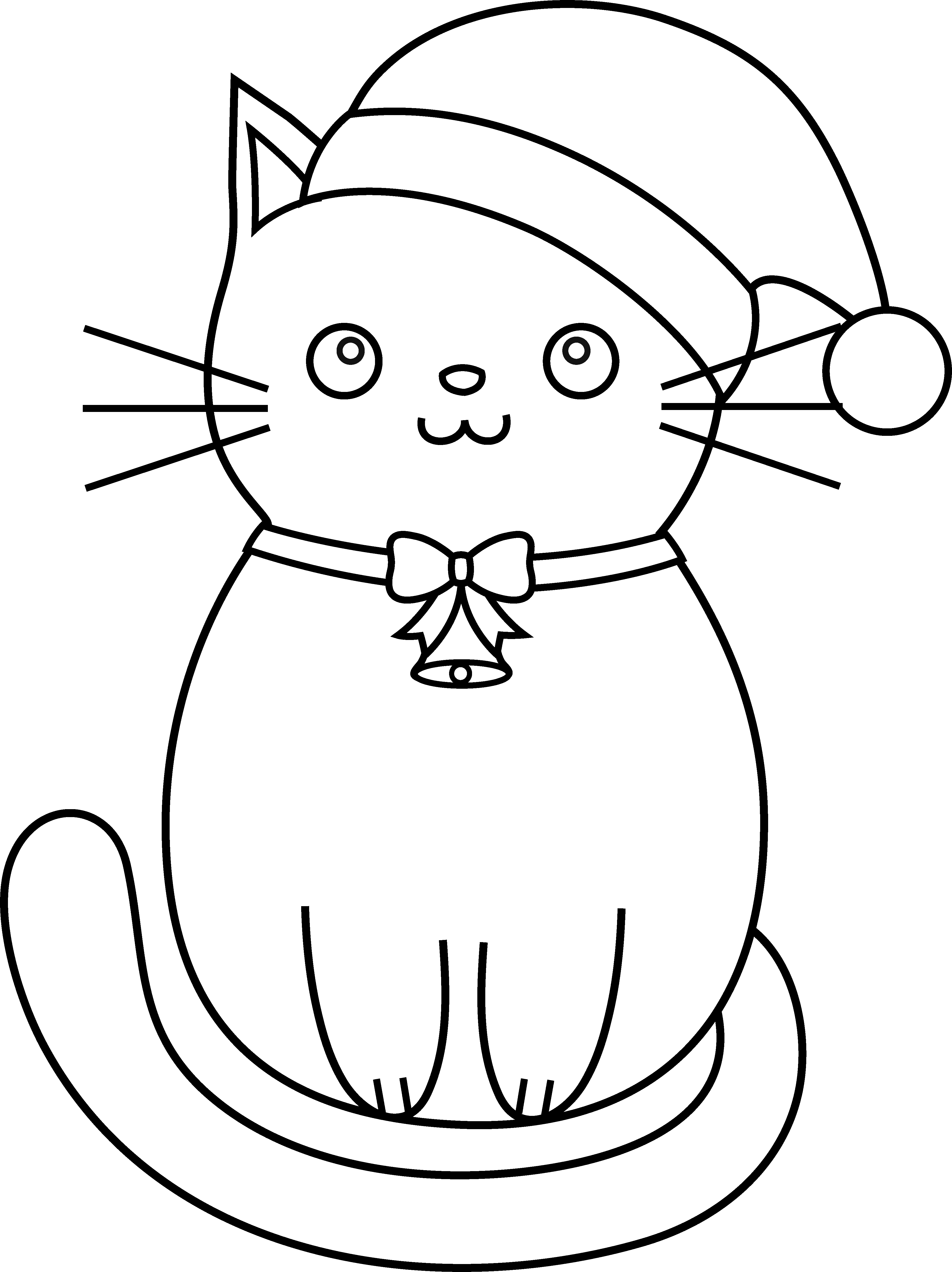 cat christmas coloring pages free printable cat coloring pages for kids cool2bkids christmas pages cat coloring