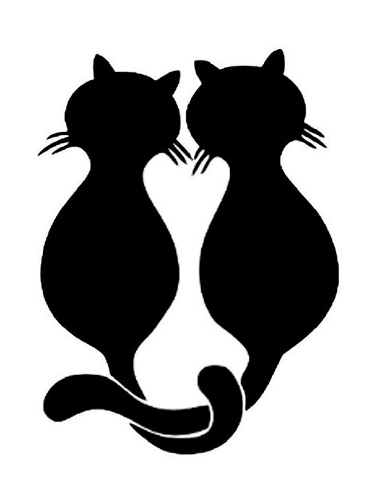cat printable cute cat coloring pages to download and print for free printable cat 1 1