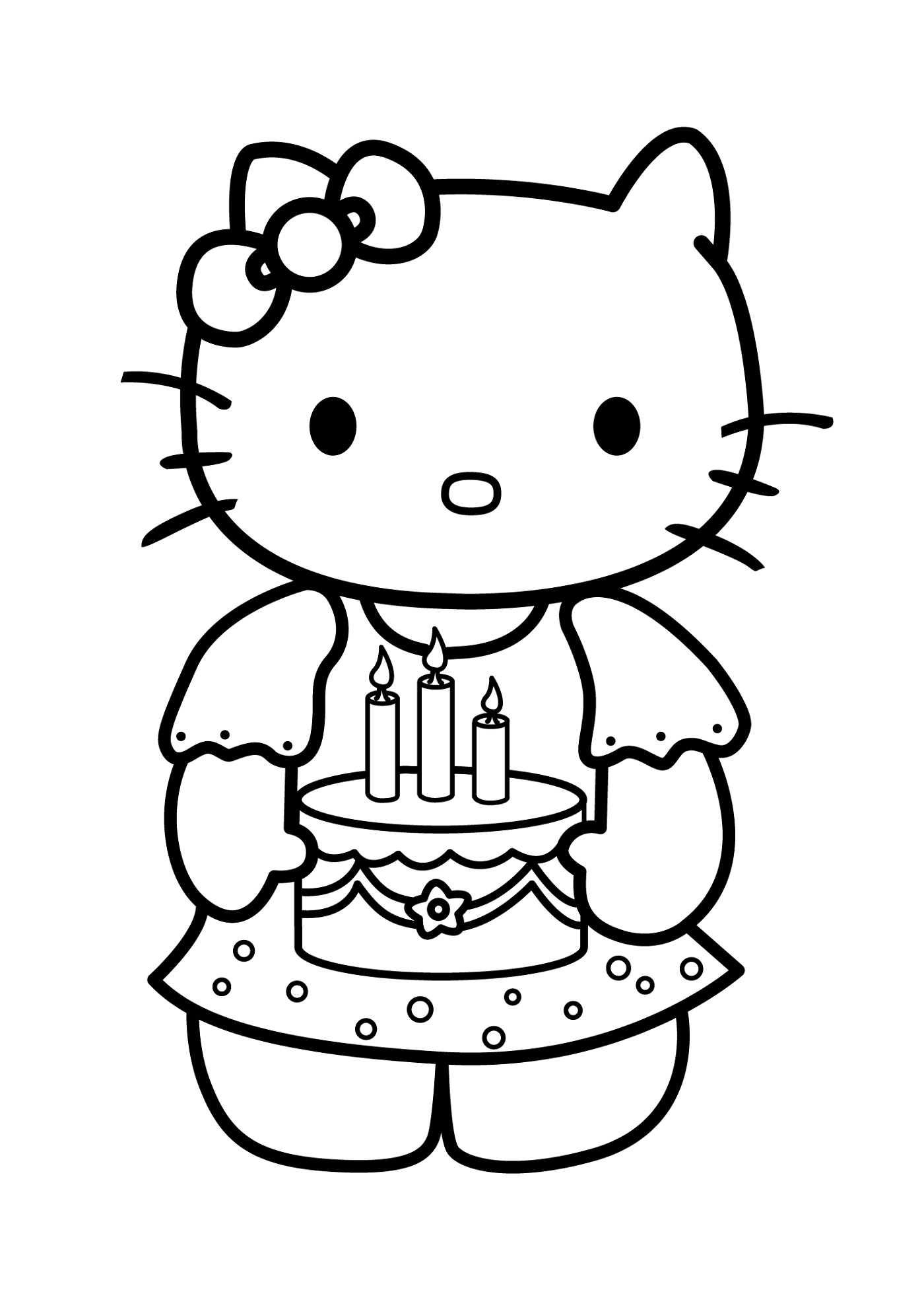 cat to color meowing kitten coloring page free printable coloring pages cat color to