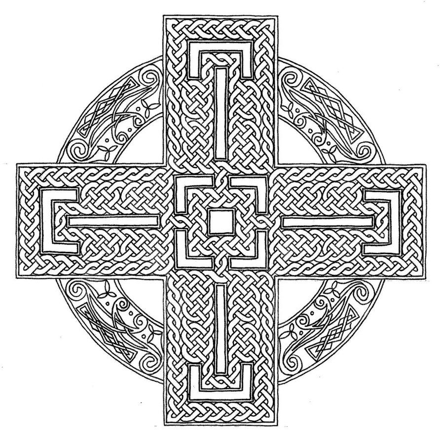 celtic coloring pages celtic cross line drawing at getdrawings free download celtic coloring pages