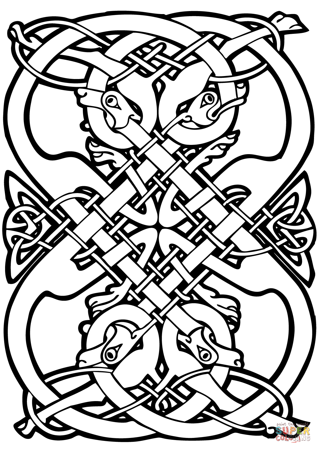 celtic coloring pages design coloring pages free download on clipartmag pages celtic coloring