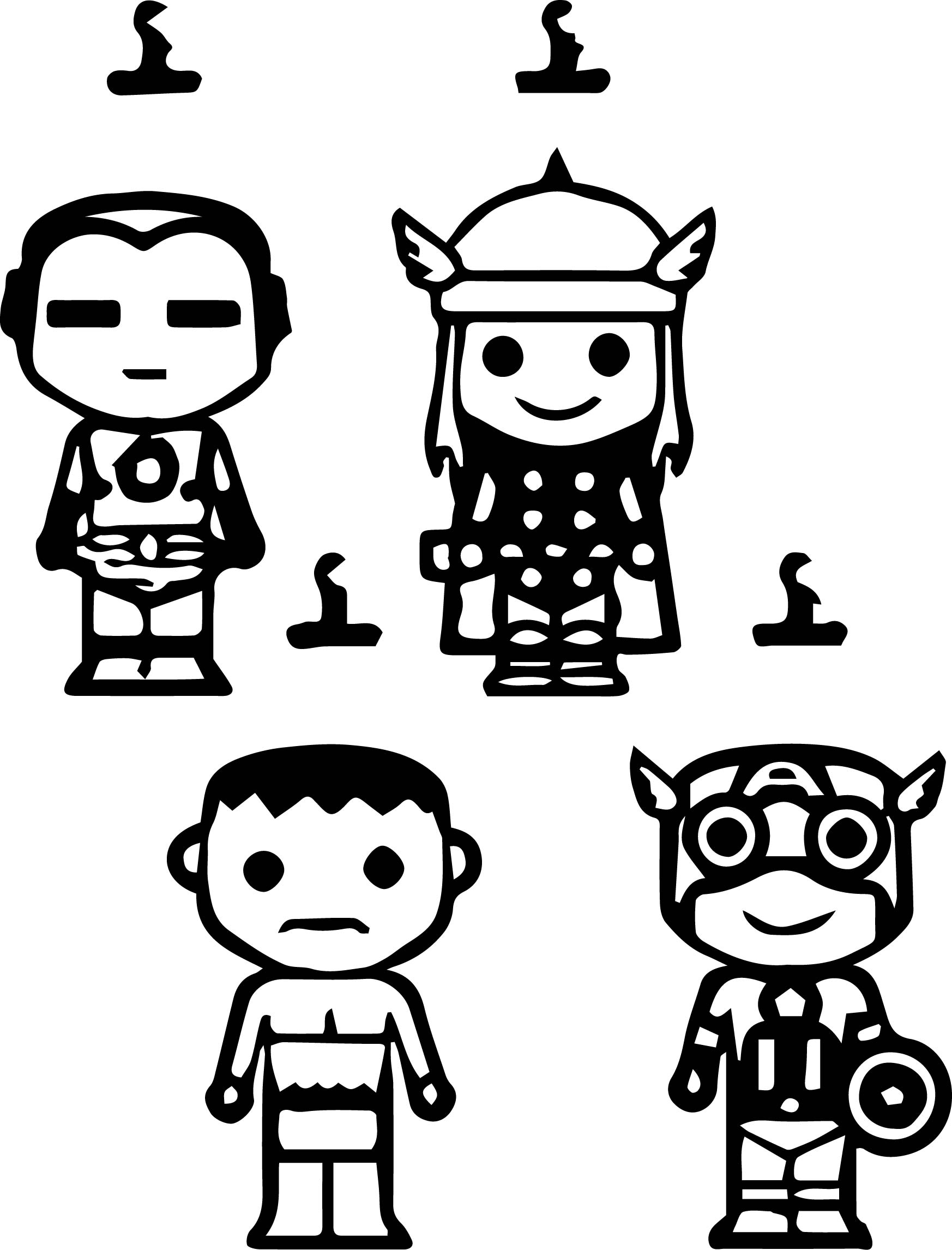 chibi avengers coloring pages avengers chibi version by skulpin16 on deviantart pages chibi avengers coloring