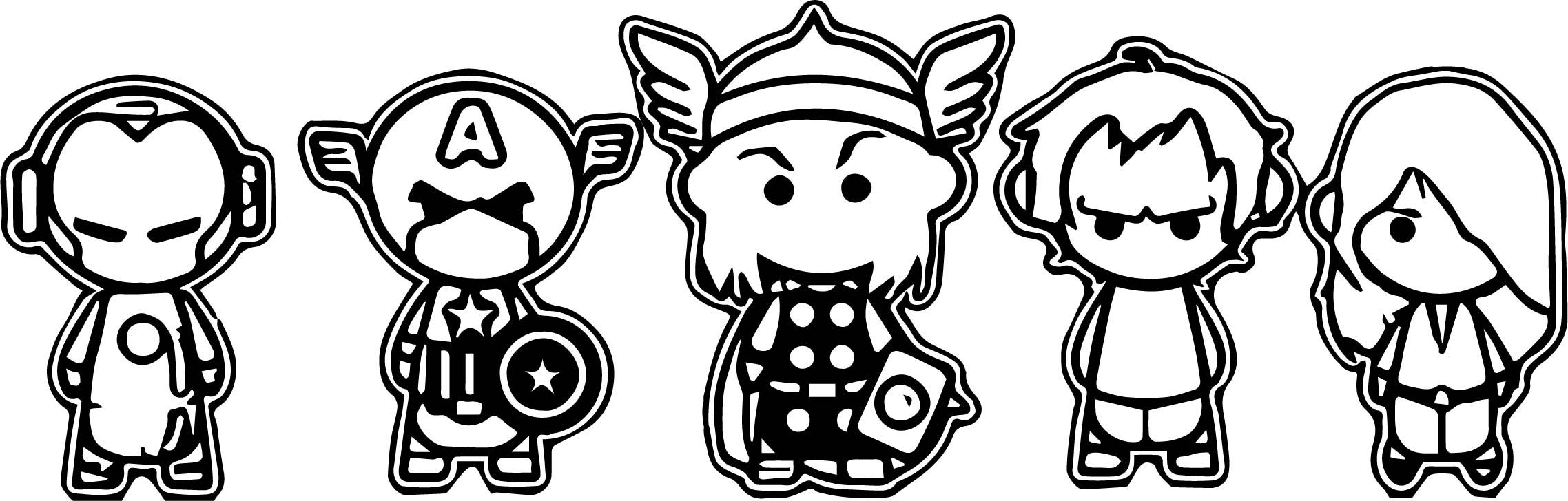 chibi avengers coloring pages chibi doctor strange to color avengers lineart by avengers coloring chibi pages