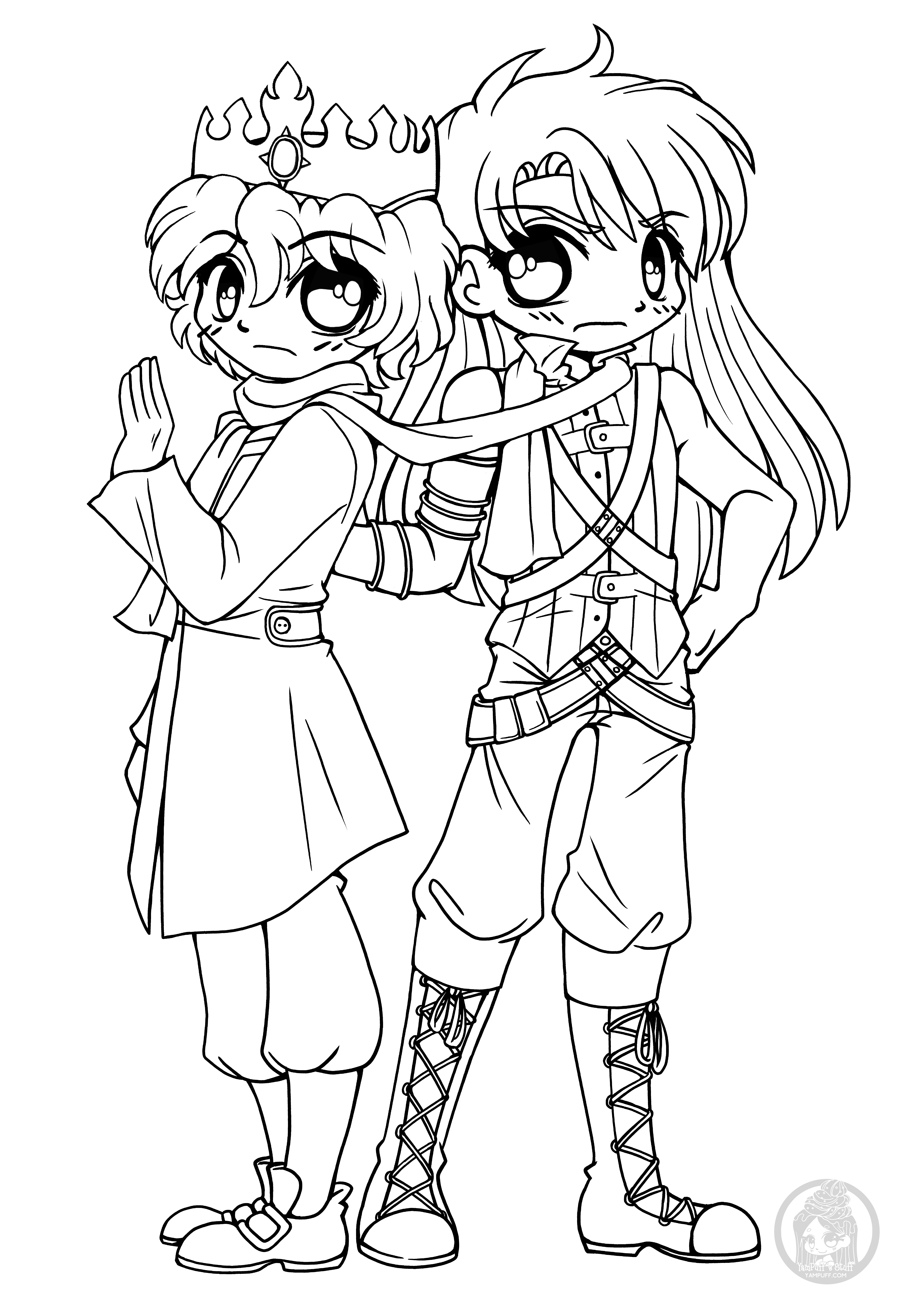 chibi couple coloring pages cute chibi couple drawing at getdrawings free download coloring couple pages chibi