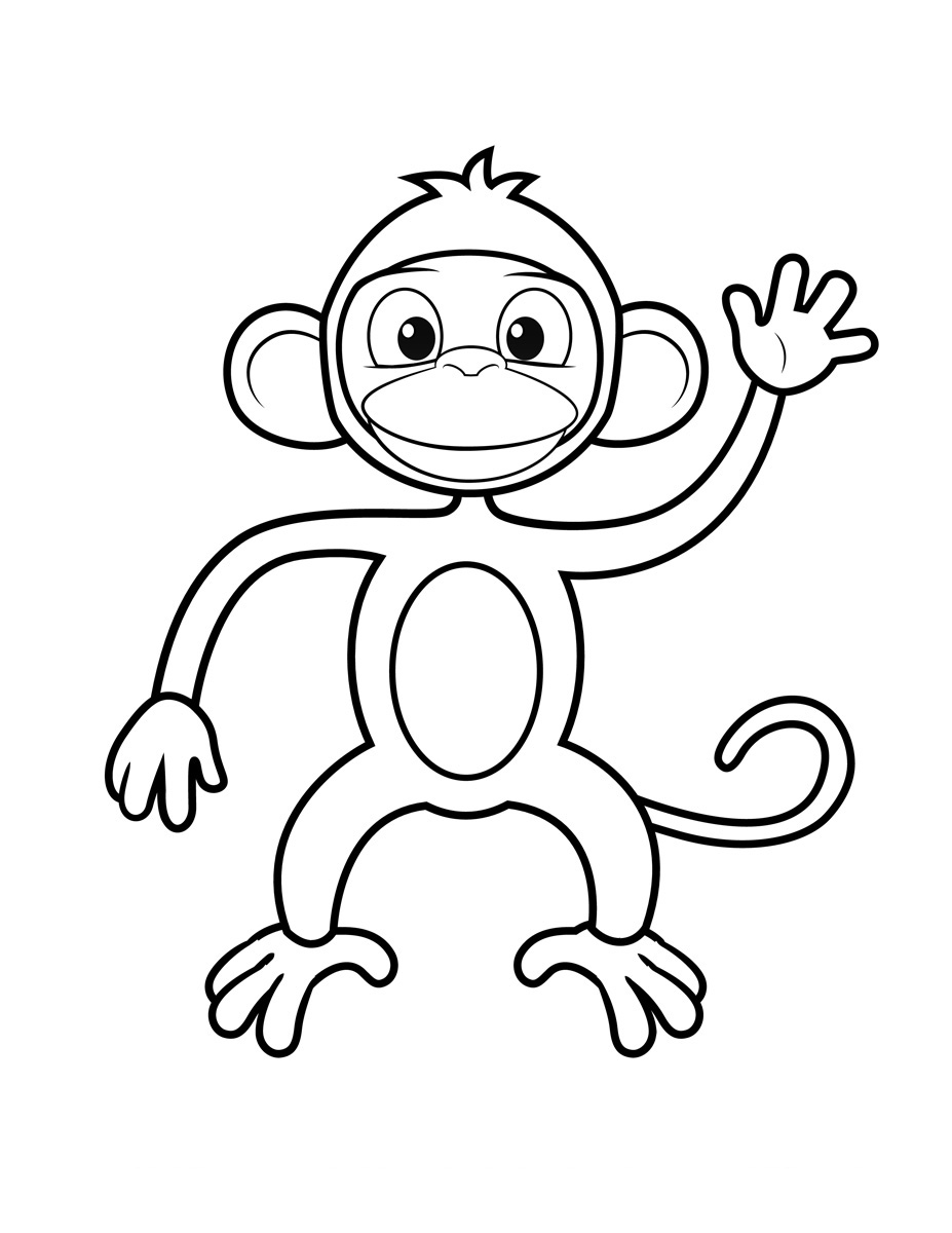 chimpanzee pictures to color monkey coloring pages printable chimpanzee color to pictures