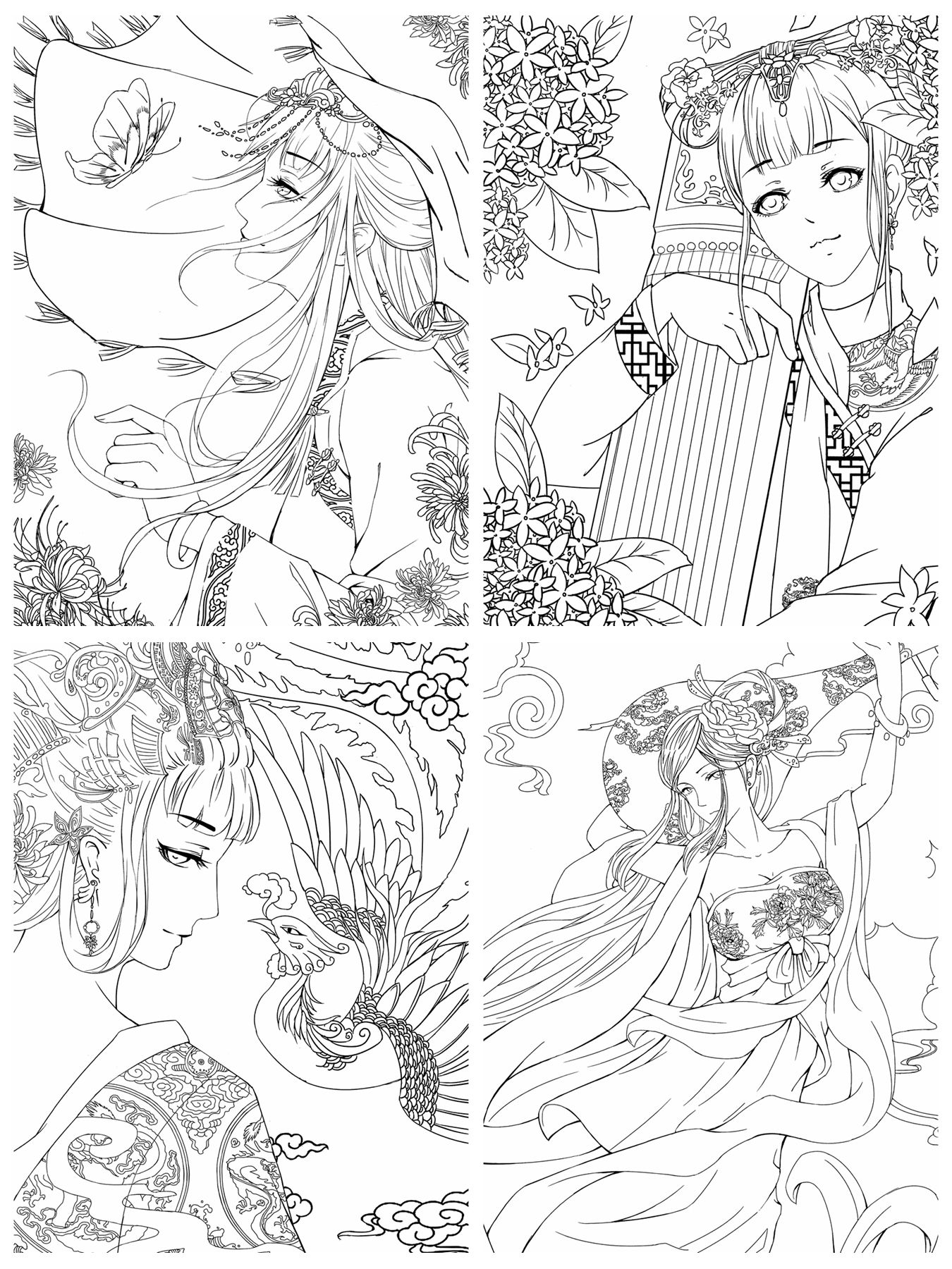 chinese coloring chinese new year coloring pages coloring chinese 1 1