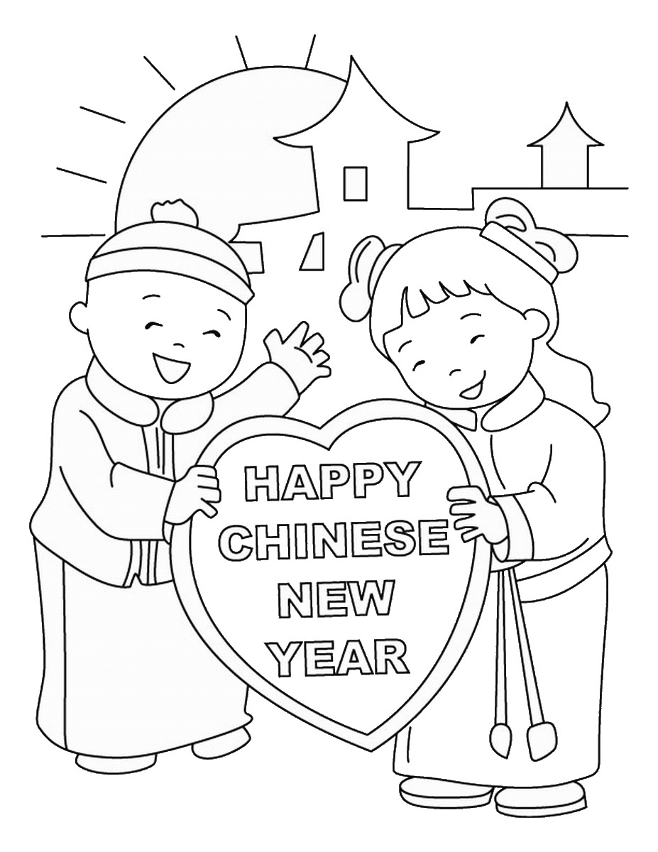 chinese coloring chinese new year coloring pages coloring chinese 1 2