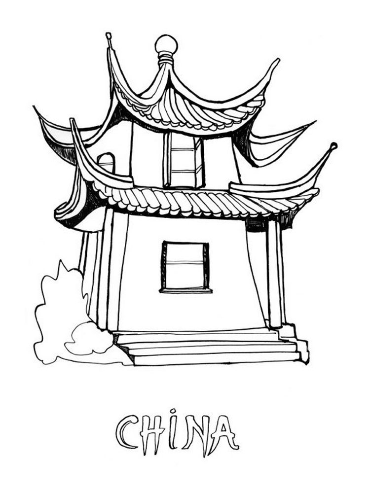 chinese coloring pin on hình coloring chinese