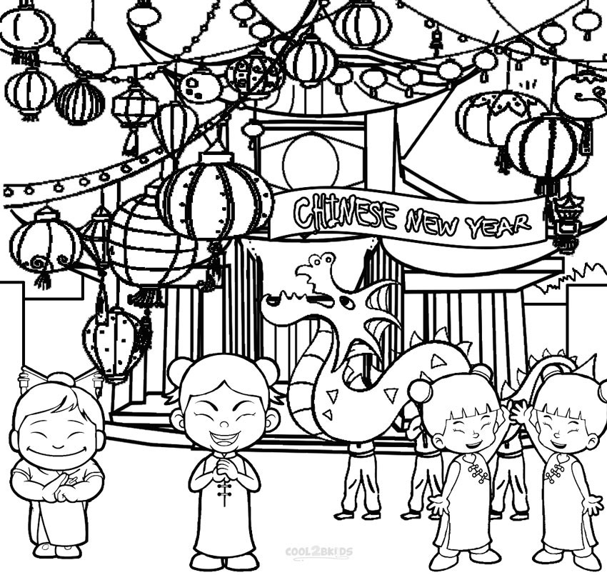 chinese coloring printable chinese new year coloring pages for kids chinese coloring