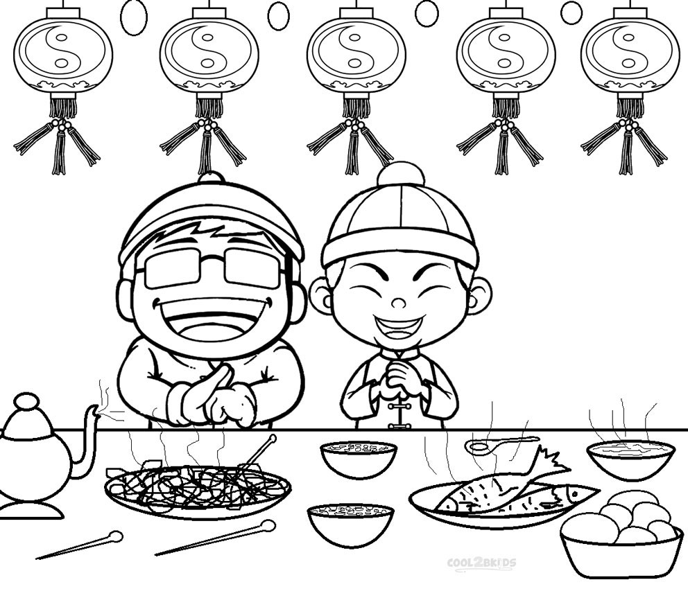chinese colouring sheets chinese new year coloring pages colouring chinese sheets