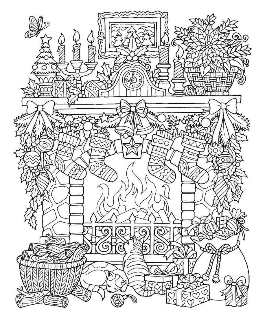 christmas coloring book pages get this adult christmas coloring pages free to print coloring christmas pages book