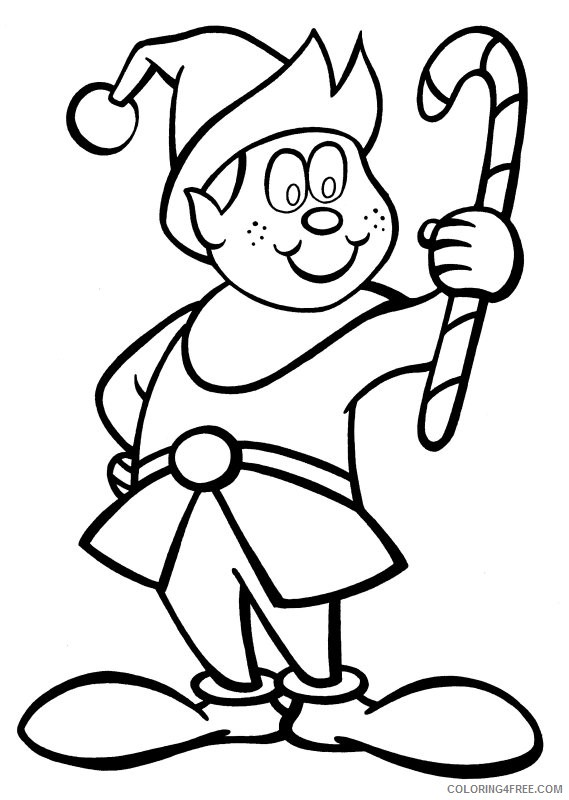 christmas coloring elf coloring pages christmas elf coloring pages free and elf coloring christmas