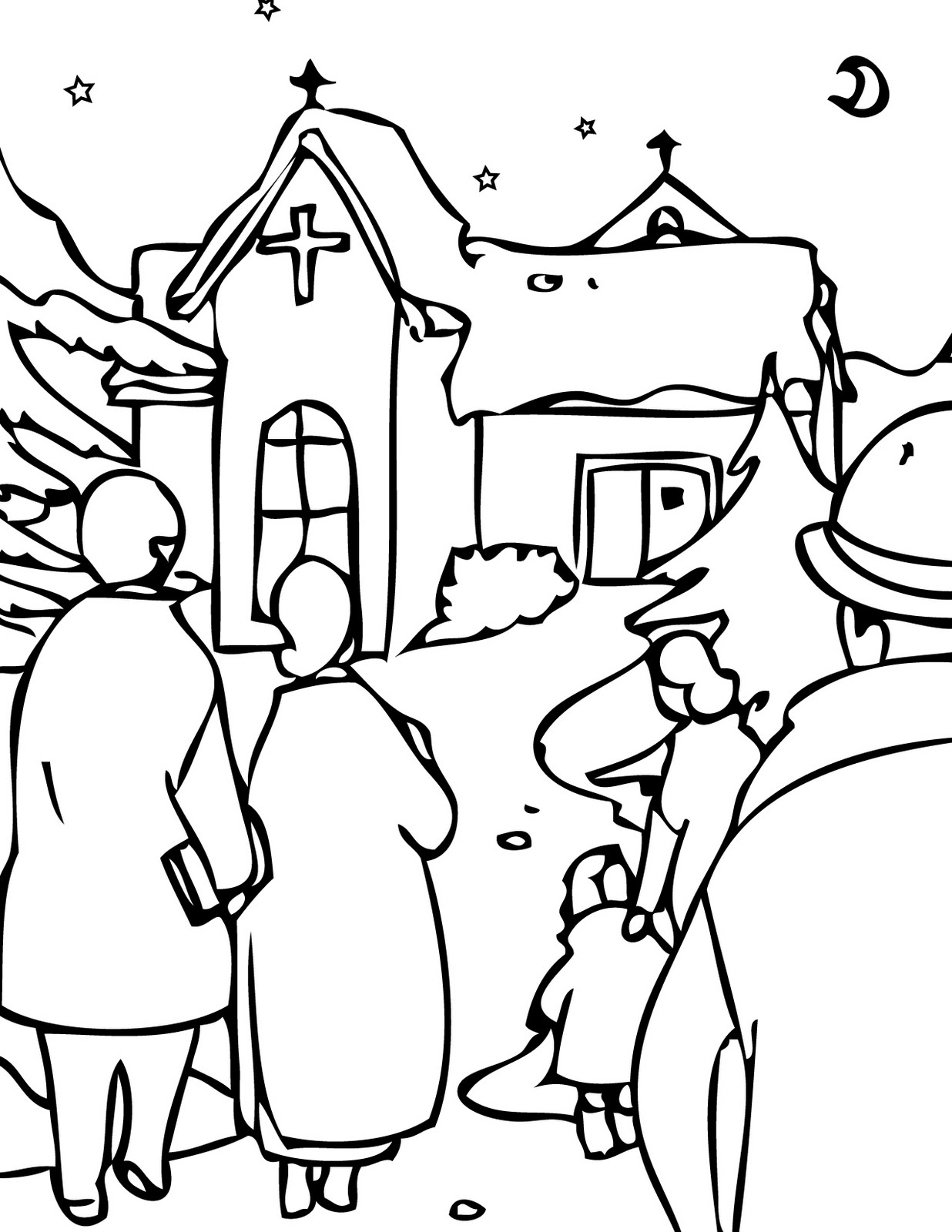 christmas coloring page christmas eve coloring pages learn to coloring christmas coloring page