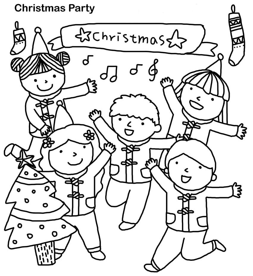 christmas coloring pages for kids easy christmas coloring pages for kids at getcoloringscom pages for coloring kids christmas