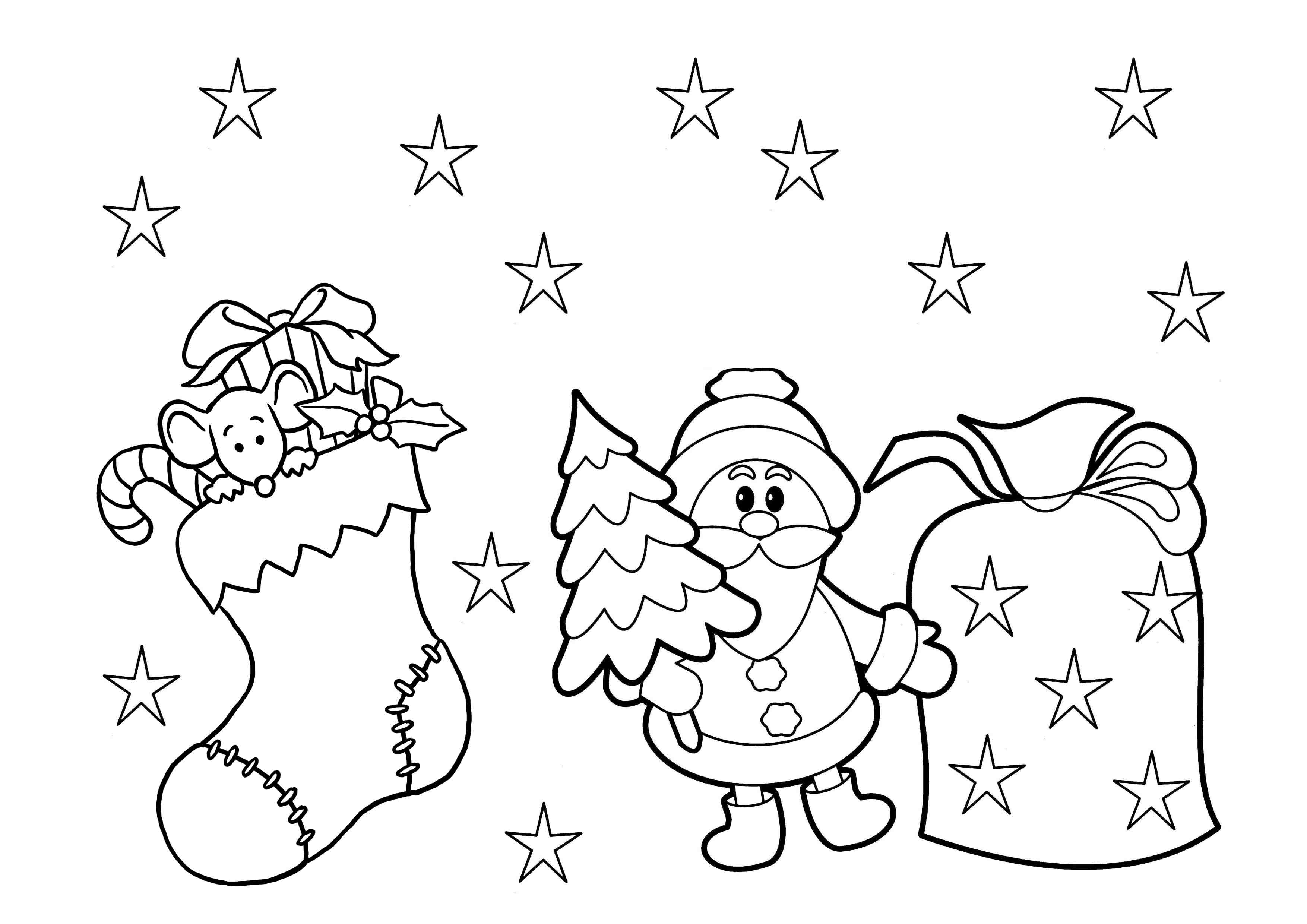 christmas coloring pages for preschoolers kindergarten coloring pages free download on clipartmag pages christmas coloring preschoolers for