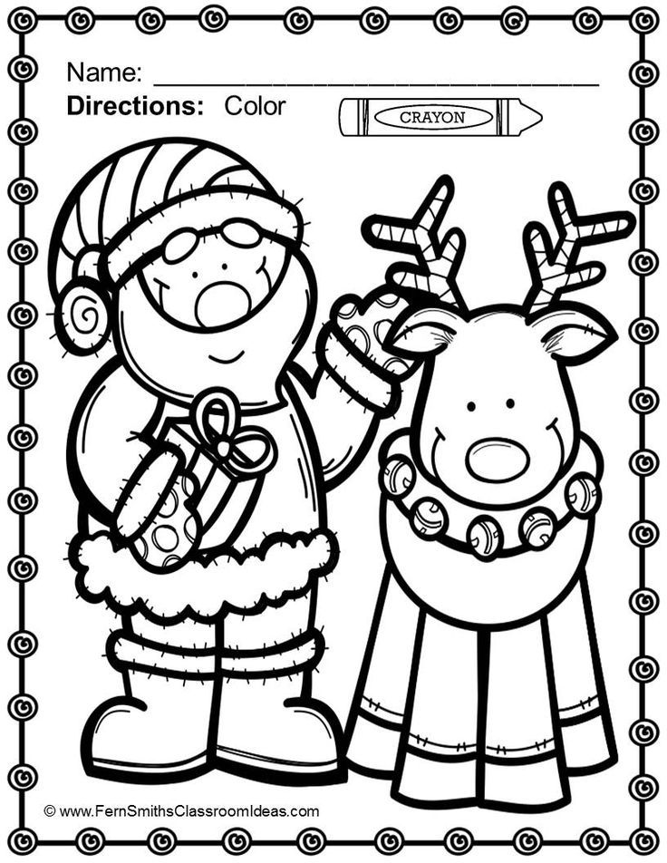 christmas coloring pages for preschoolers reindeer coloring pages christmas coloring pages for preschoolers pages christmas coloring