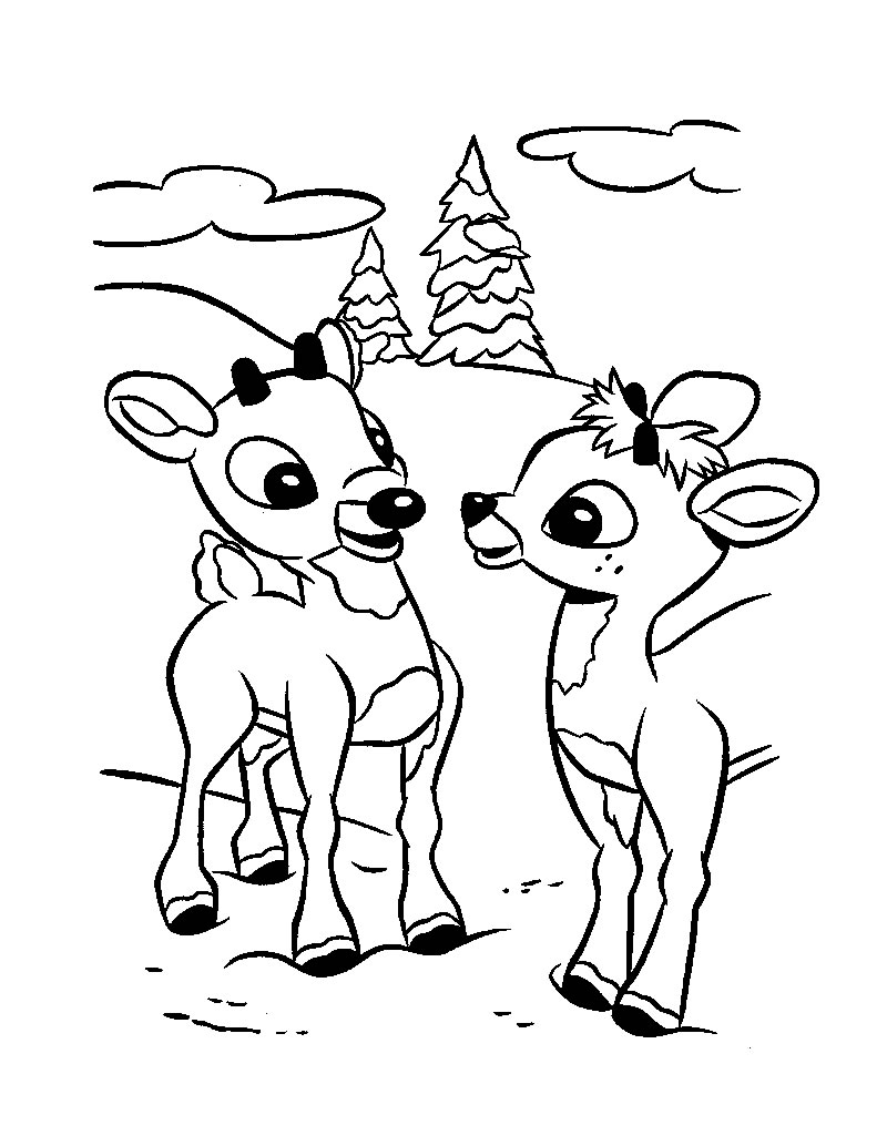 christmas coloring pages reindeer christmas reindeer nontachai hengtragool christmas reindeer pages coloring christmas