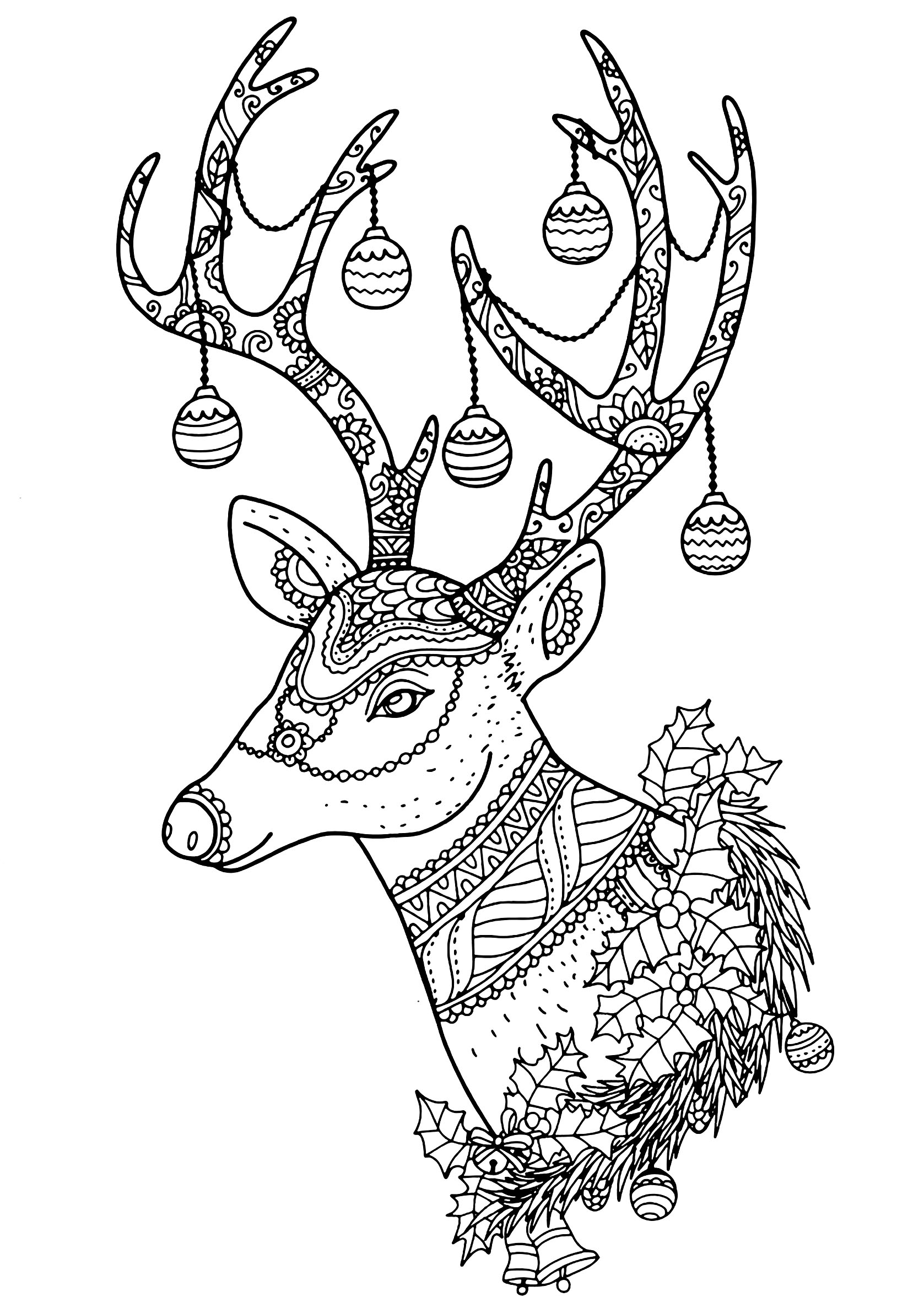 christmas coloring pages reindeer christmassantasreindeercoloringpages 9 crafts and christmas reindeer coloring pages