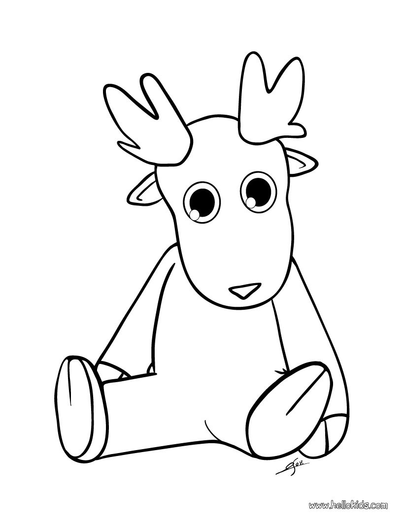 christmas coloring pages reindeer craftsactvities and worksheets for preschooltoddler and coloring reindeer christmas pages