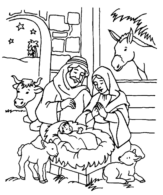 christmas coloring pages religious christmas coloring page for kids christmas pages religious coloring