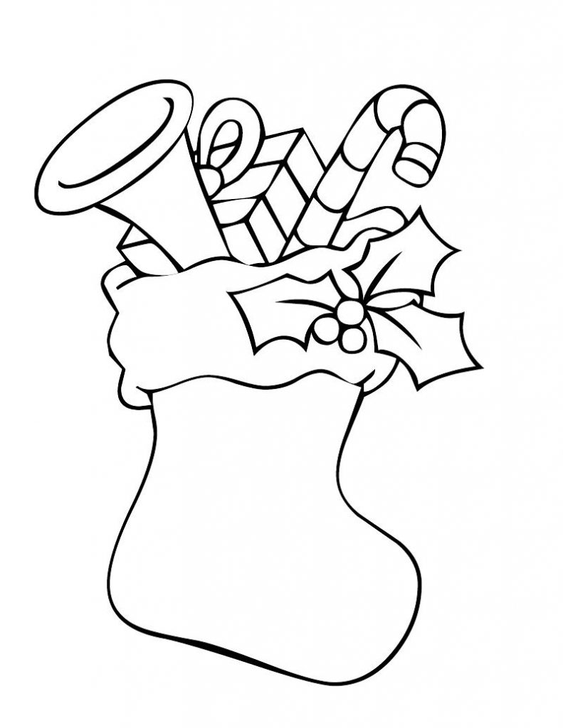 christmas coloring pages stocking children christmas stockings coloring home christmas pages coloring stocking