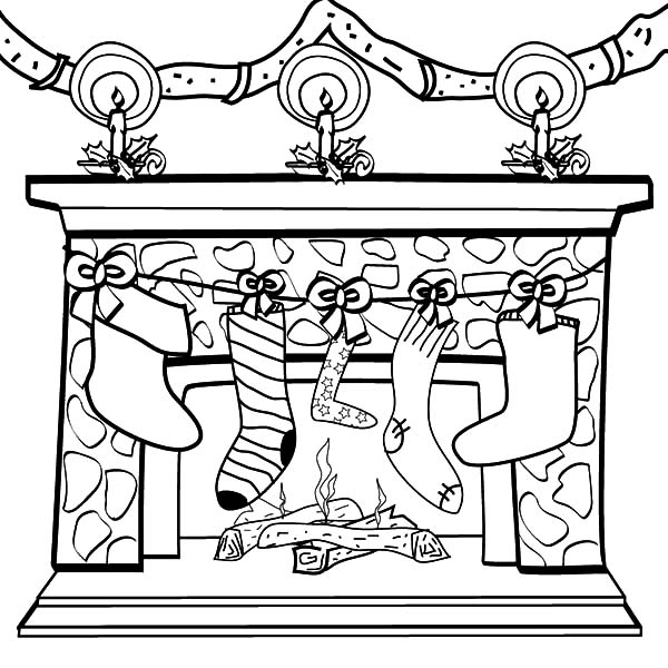 christmas coloring pages stocking christmas stocking coloring pages for kids tulamama pages stocking christmas coloring
