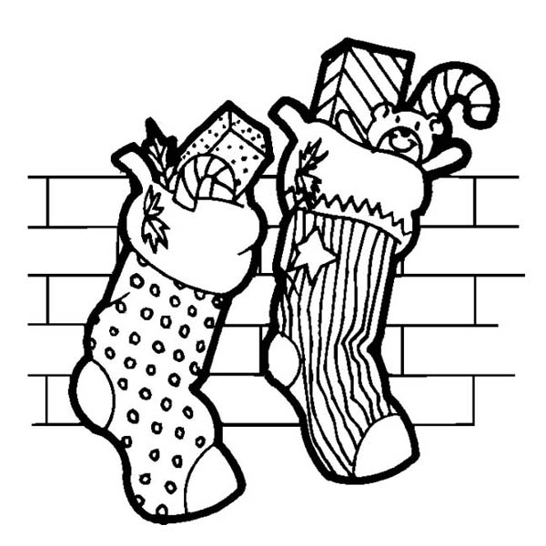 christmas coloring pages stocking christmas stocking coloring pages kids arts crafts stocking christmas coloring pages