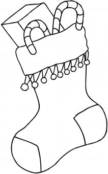 christmas coloring pages stocking christmas stocking coloring pages pages christmas coloring stocking