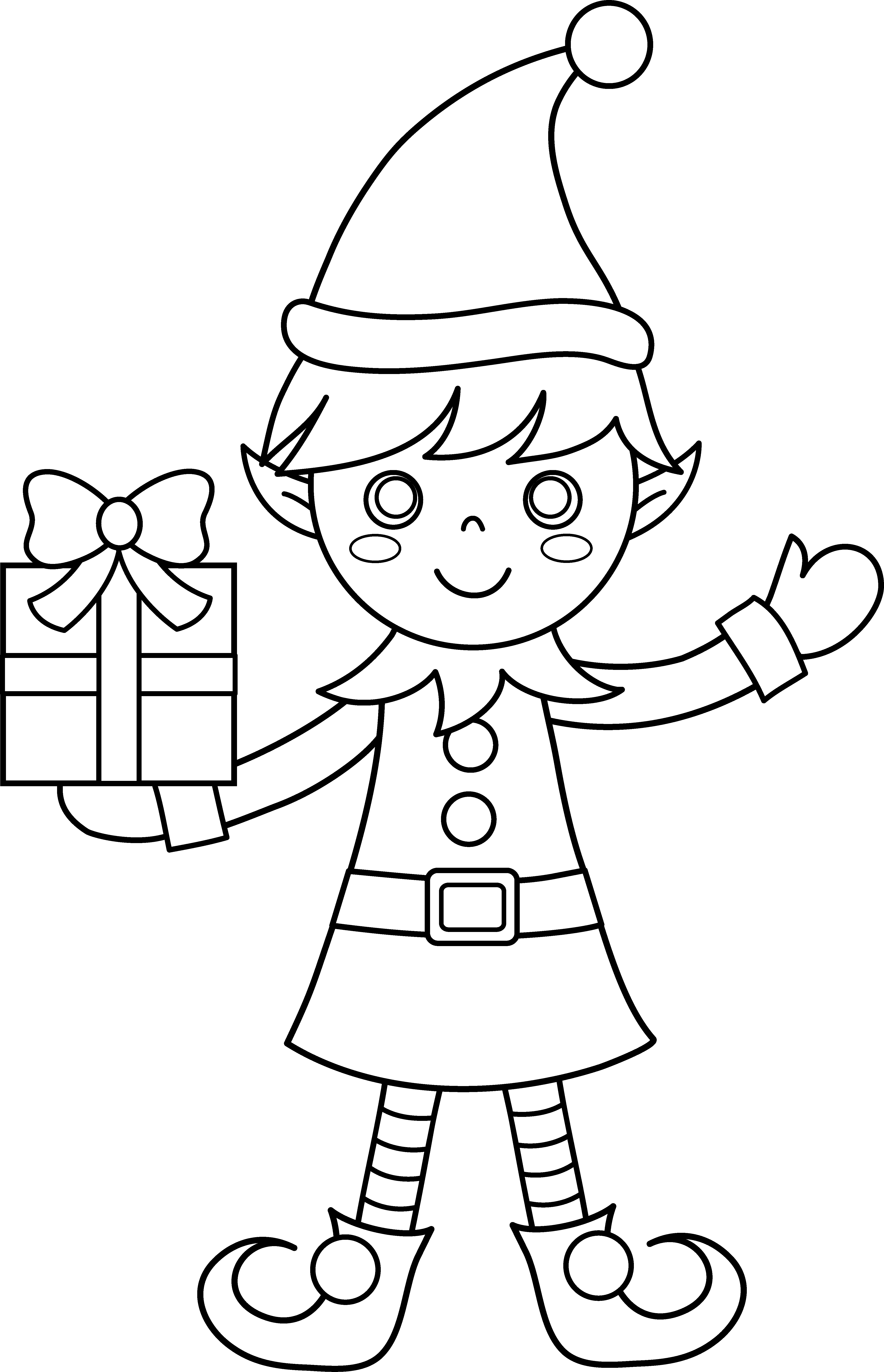 christmas elf coloring pages christmas elf coloring pages elf christmas pages coloring