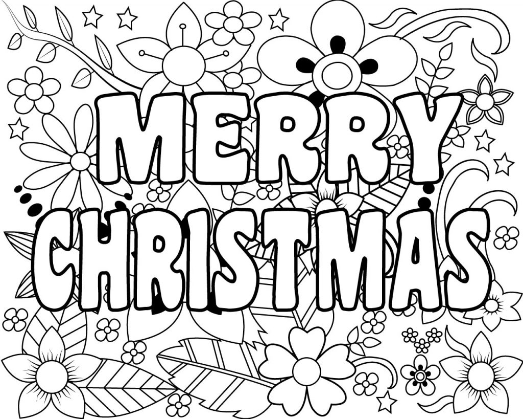 christmas pictures to color christmas coloring pages learny kids color to pictures christmas