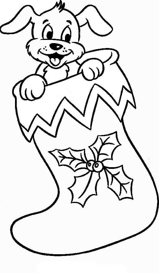 christmas pictures to color christmas stocking coloring pages christmas color pictures to