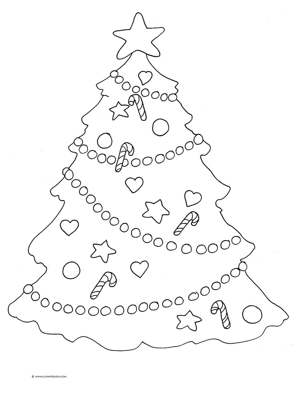 christmas tree color page christmas tree coloring pages for childrens printable for free page color christmas tree