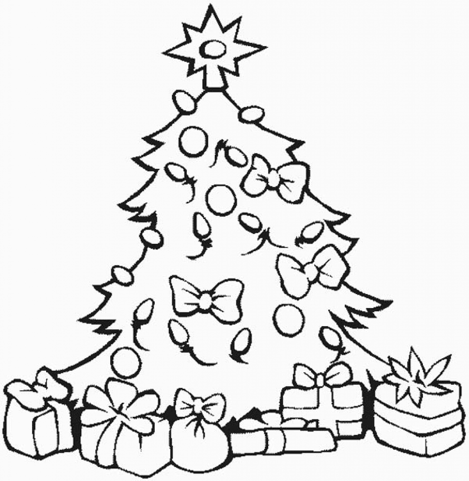 christmas tree coloring pictures christmas tree coloring pages for childrens printable for free coloring pictures tree christmas