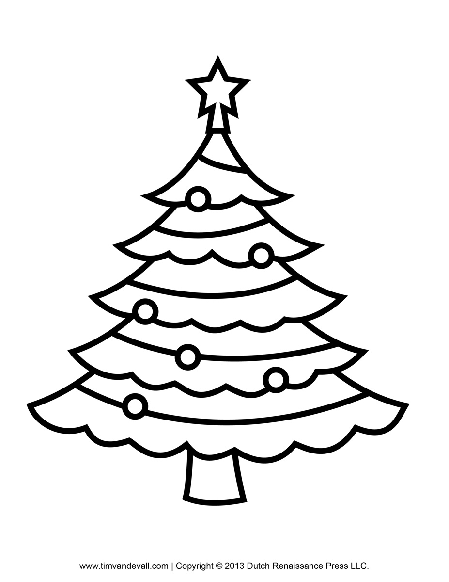 christmas tree coloring pictures christmas tree free printable coloring pages tree christmas pictures coloring