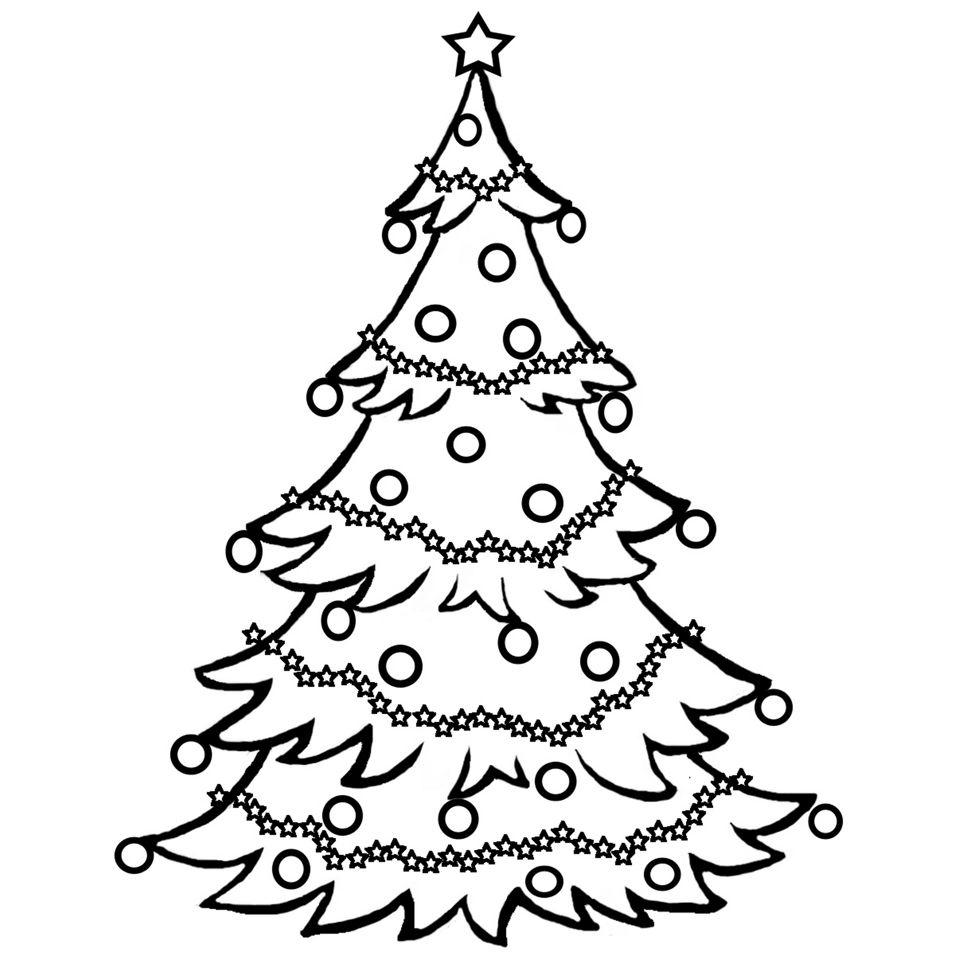 christmas tree coloring pictures coloring pages of christmas trees coloring home pictures tree christmas coloring