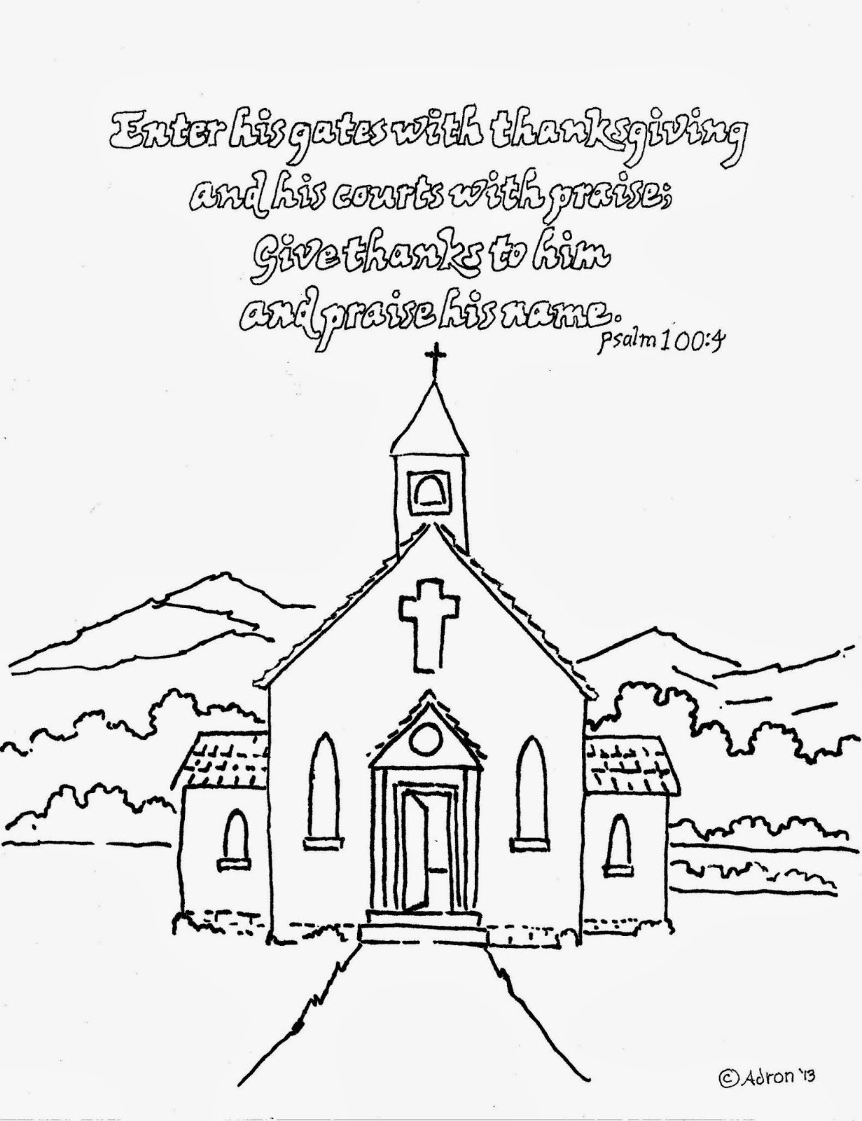 church coloring page church coloring pages to download and print for free page church coloring