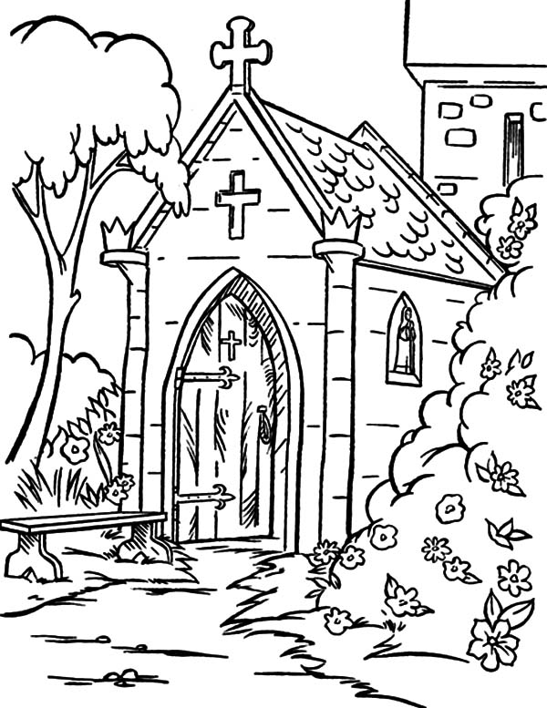 church coloring page coloring pages of a church coloring home church coloring page