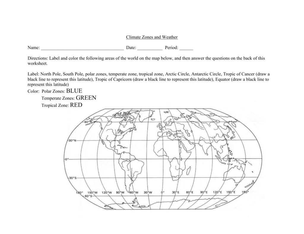climate zone coloring map climate zones coloring page printable coloring pages climate zone map coloring
