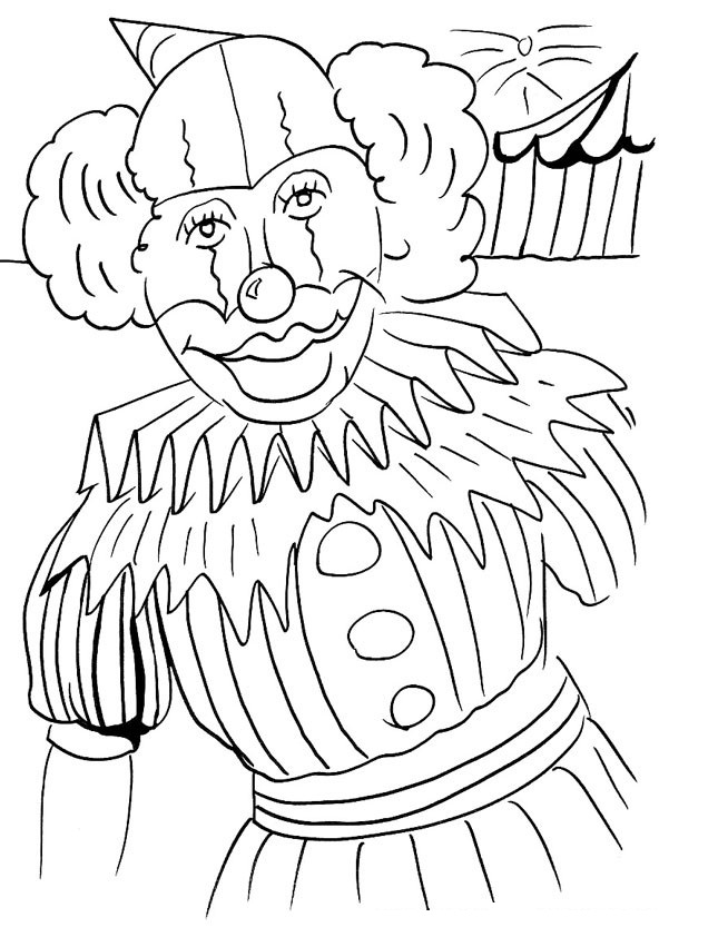 clown printable coloring pages free printable clown coloring pages for kids printable clown coloring pages