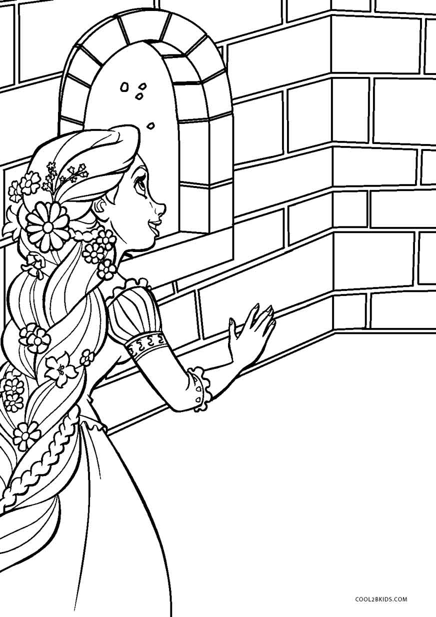 color pages online free printable tangled coloring pages for kids cool2bkids pages color online
