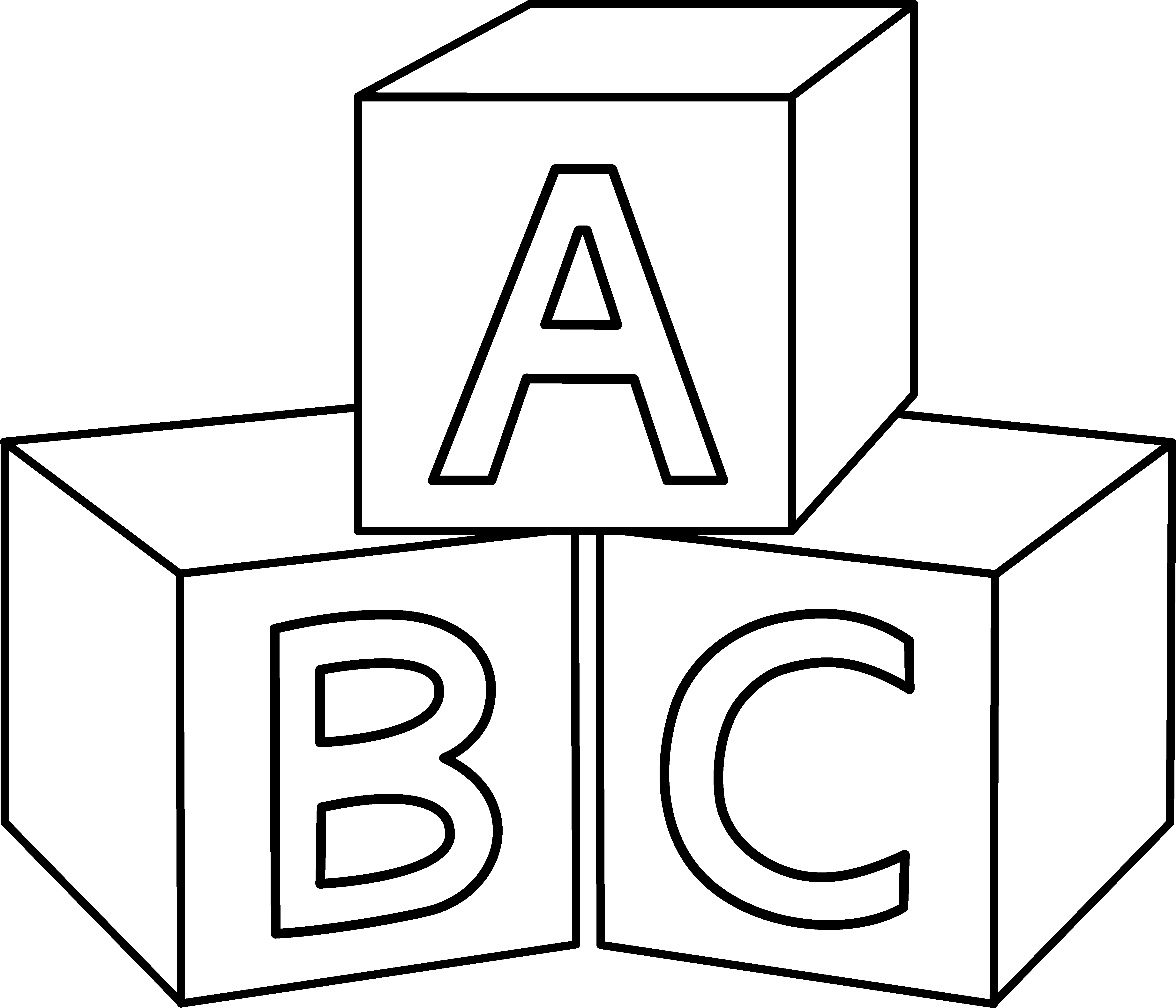 coloring abc draw abc drawing at getdrawings free download abc draw coloring