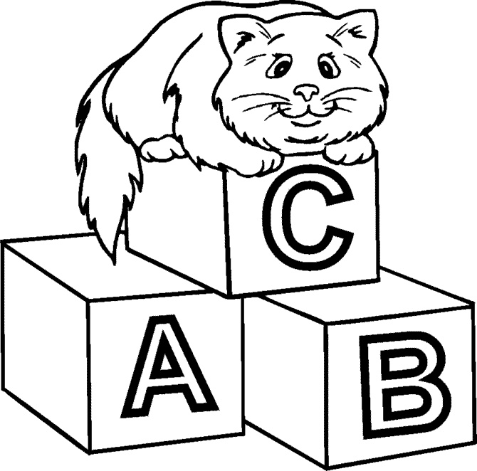 coloring abc draw baby blocks drawing at getdrawings free download abc draw coloring