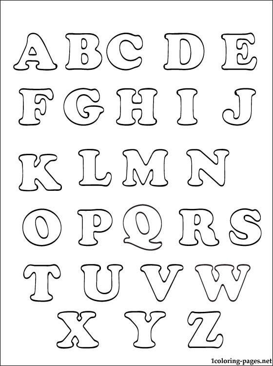 coloring abc draw free printable abc coloring pages for kids coloring draw abc
