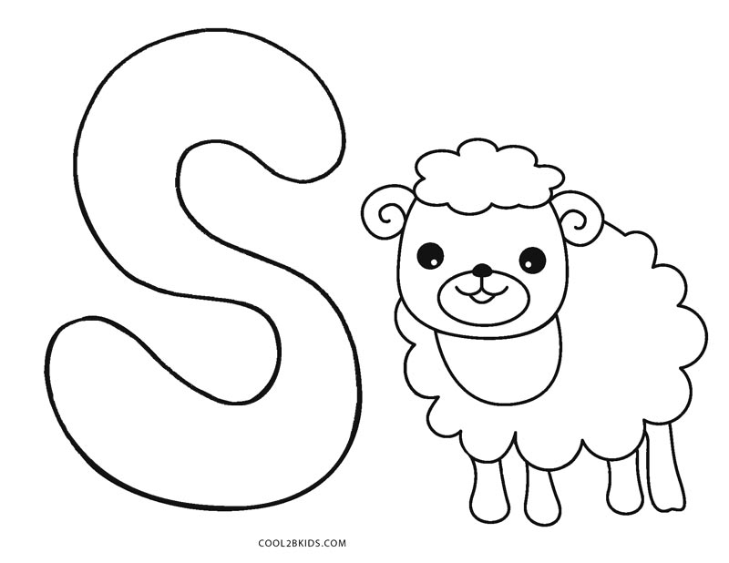 coloring abc draw printable coloring pages uppercase letters animals draw coloring abc